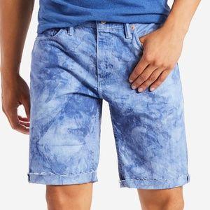 Men's LEVI'S 511 Slim Cutoff Ripped Jean Shorts